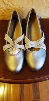 Brand New Pewter Colored Shoes in Plainfield, Illinois