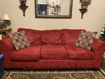 Red Couch in Moody AFB, Georgia