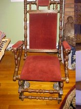 Antique Platform / Spindle Rocking Chair in Yuma, Arizona