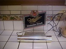 Working Vintage Miller High Life Genuine Draft Bar Light in Yuma, Arizona