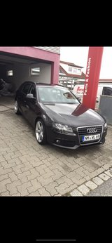 Audi A4 in Hohenfels, Germany
