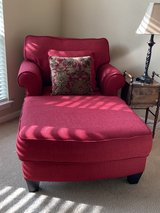 Red Chaise Lounge Chair in Spring, Texas