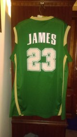 Vintage LEBRON JAMES, 2003 Nike, St Vincent Mary High School IRISH JERSEY XXL in Warner Robins, Georgia