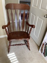 Wood Rocking Chair in Kingwood, Texas