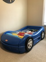 Little Tikes Race Car Toddler Bed in Naperville, Illinois