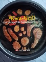 Kera grill for alcohol burners in Ramstein, Germany
