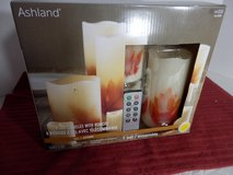 Candle Set, Brand New w/remote in Chicago, Illinois