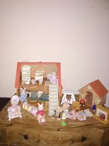 Vintage 1985 Sylvianian family house and extras in Yorkville, Illinois