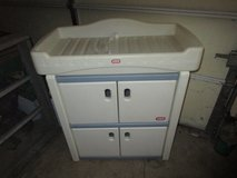 LITTLE TIKES CHANGING TABLE AND STORAGE in Joliet, Illinois
