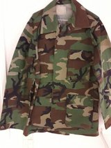 Fatigues coat, cold weather in Ramstein, Germany