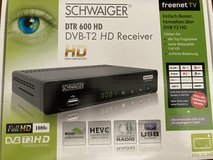 Schwaiger DVB-T2 HD Receiver in Ramstein, Germany