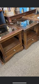 Set of End Tables in Fort Leonard Wood, Missouri