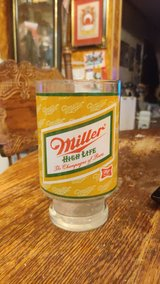 Vintage Miller High Life Glass in Lackland AFB, Texas