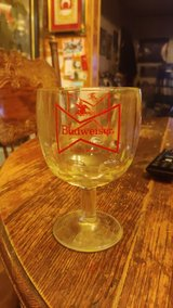 Budweiser goblet glass in Lackland AFB, Texas