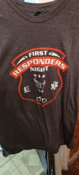 San Antonio Rampage First Responders Night in Lackland AFB, Texas