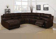 United Furniture - Johnny Sectional - In- Dark Brown - Badlands - price includes delivery in Ansbach, Germany