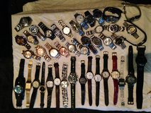 lot of 43 mens watches in Spring, Texas