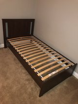 Two IKEA twin size bed frames in Camp Pendleton, California