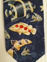 Tropical fish neck tie in Ramstein, Germany