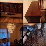 Excellent Condition Formal Dining Room Set / Buffet Server / 2 Piece Lighted Glass China Cabinet... in Fort Carson, Colorado