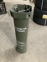 155mm Howitzer Powder Canister in Camp Pendleton, California