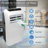 Serenelife Air-conditioner 12,000 but + heater in Fort Lewis, Washington