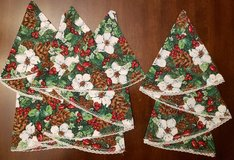 REDUCED Christmas napkins in 29 Palms, California