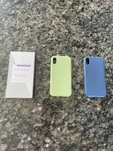 Two IPhone X (10) Protective Cases+Screen Protector in Chicago, Illinois