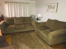 Couch and Love Seat in Chicago, Illinois