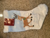 Merry 1st Christmas Blue Stocking in Nellis AFB, Nevada