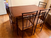 dining Table & 4 chairs in Brockton, Massachusetts
