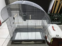 """Bird Cage - 29""""x27""""x14"""" and small pet carrier in Stuttgart, GE"""