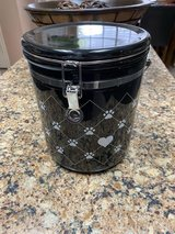 Very Nice Ceramic Dog Treat Container in Kingwood, Texas