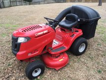 """Troy Bilt Pony 42"""" Riding Lawn Mower with twin bagger in Cherry Point, North Carolina"""