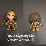 Funko Mystery Mini Wonder Woman in Lackland AFB, Texas