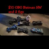 Batman HW and figures in Lackland AFB, Texas