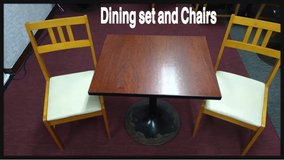 ** THIS BEAUTIFUL 3 PIECES DINING SET OF TABLE & CHAIRS ** in Okinawa, Japan