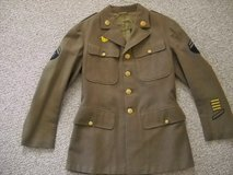 Army Class A Winter Jacket in Cherry Point, North Carolina