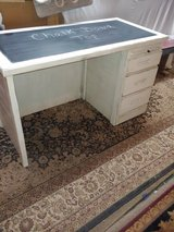 desk solid wood. Chalk Board Top. 3 drawers in Conroe, Texas