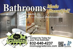 Upgrade your Bathroom for Less in Conroe, Texas