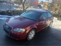 Audi A3 - brand new inspection and service in Hohenfels, Germany