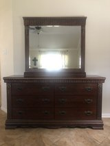 Dresser with mirror in The Woodlands, Texas