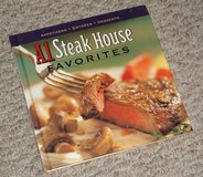Vintage 1998 A-1 Steak House Favorites Appetizers * Entrees * Desserts Hard Cover Cook Book in Morris, Illinois