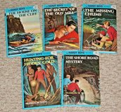 Vintage 2002 Set of 5 The Hardy Boys Hard Cover Books 2-6 in Chicago, Illinois