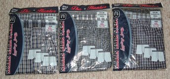 NEW The Hunter 3 Pairs Boxer Shorts Mens 4X 54 - 56 in Morris, Illinois