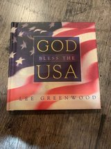 NEW Vintage 2001 God Bless the USA Hard Cover Book & CD Combo Patriotic Songs in Chicago, Illinois