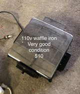 110v waffle iron in Ramstein, Germany