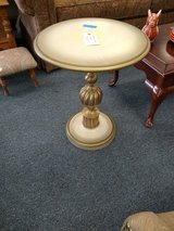 Ornate Round Accent Table in Naperville, Illinois