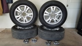 Toyota 5 Lug Tire & Wheel Package--For Sale or Trade in Ruidoso, New Mexico