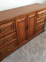 Oak Dresser in Cary, North Carolina